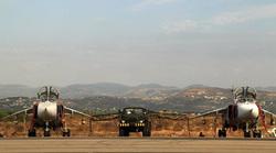 Российские самолеты на авиабазе Хмеймим Сирия., истребитель, су-24м, Сирия, хмеймим
