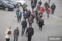 Церемония прощания с Шарафиевым. Екатеринбург