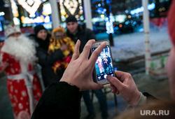 Предновогодняя Москва. Иллюминация. Москва, снимает на телефон, иллюминация, вечерняя москва, новый год