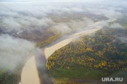 Природа Ямало-Ненецкого автономного округа, облака, осень, природа ямала