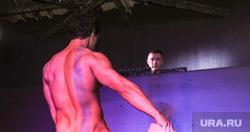 Стриптиз мужской. Екатеринбург., стриптиз, ведро, мужской стриптиз, голый