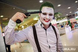 Развлекательная программа к премьере «Отряда самоубийц» в Премьер зале трц <i>хмао</i> Парк-Хаус. Екатеринбург, косплей, джокер