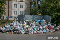 Неубранные городские помойки. Курган, мусорные контейнеры, помойка