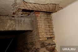 Дом Гоголя 42 Курган, несущие опоры, аварийный подвал