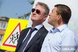 Рабочая поездка врио губернатора Свердловской области Евгения Куйвашева в Красноуральск, козицын андрей, куйвашев евгений