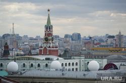 Виды. Москва, москва, кремль, спасская башня