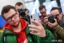 Старт продаж Apple IPhoneX в re:Store на Тверской, 27. Москва , apple, гаджеты, iphone 10, фон, смартфон, телефон, мобильный