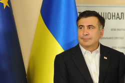 Саакашвили Михаил, флаг украины, саакашвили михаил