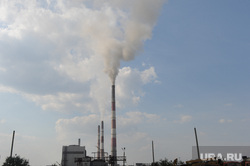 Фортум. Челябинск., дым, трубы, троицкая тэц