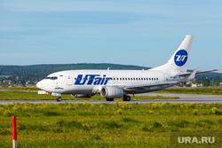 Споттинг в Кольцово. Екатеринбург, самолет, аэропорт, boing 737, Боинг 737-524, ютейр