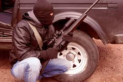 Открытая лицензия от 11.11.2016, оружие, терроризм, преступник, в маске