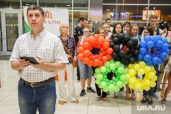 Встреча олимпийцев в аэропорту Кольцово. Екатеринбург, олимпиада, воздушные шарики, кольца, рапопорт леонид, олимпийские игры