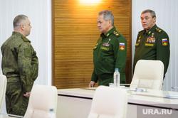 Визит министра обороны РФ Сергея Шойгу в Екатеринбург, герасимов валерий, шойгу сергей