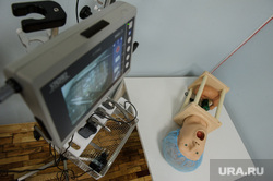 Открытие после реконструкции отделения восстановительного лечения ДГКБ №9. Екатеринбург, учебный класс, тренажер, процедуры, медицина, искусственное дыхание, манекен
