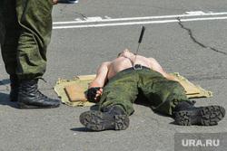 День ВДВ в Челябинске, нож, убийство, армия, военные, показательные выступления