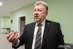 Пресс-тур на территорию медгородка, открытие новой поликлиники, вручение автомобилей скорой медицинской помощи. Челябинск, важенин андрей