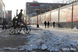 Нечищенная улица Вайнера. Екатеринбург