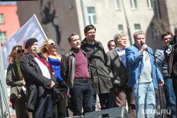 5-ая годовщина Болотной площади. Митинг на проспекте Сахарова. Москва, гудков дмитрий, митрохин сергей, пономарев лев
