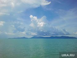 Клипарт, море, облака, океан
