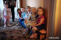 Поселок Роза. Челябинск., дети, детский сад 12