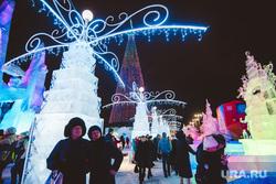 Открытие ледового городка. Екатеринбург, ледовый городок, люди, открытие, новый год