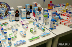Рустам Минниханов на комбинате Синтез Курган, лекарства, медикаменты