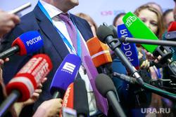 Красноярский экономический форум 2017. Второй день. Красноярск, микрофоны, журналисты, ажиотаж