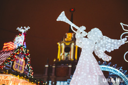 Открытие ледового городка. Екатеринбург, ледовый городок, ледовая скульптура, ангел, рождество, администрация, новый год
