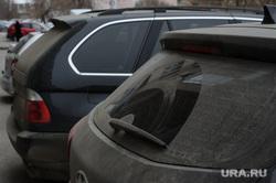 Пыльный грязный Екатеринбург. Город без снега, пыль, грязная машина