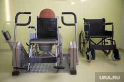 Визит Орлова в Нижний Тагил , инвалидная коляска
