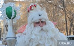 Настоящий Дед Мороз из Великого Устюга в спецшколе-интернате 12. Челябинск, дед мороз, зима