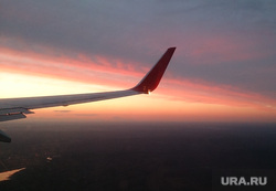 Клипарт по теме Небо, закат, полет, небо