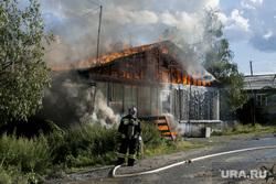 Пожар в Лабытнанги, пожар