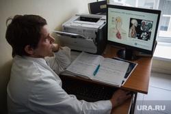 Евгений Куйвашев посетил ОКБ №1. Екатеринбург, больница, врач, диагностика, поликлиника, медик, доктор, онкология