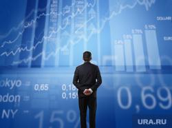 Клипарт депозитфото, экономика, биржевые графики, фондовая биржа, инвестиции, фондовый рынок