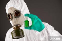 Клипарт Депозитфото, опасная зона, радиация, защитный костюм, выбросы, противогаз, защитная одежда, исследование, загрязнение окружающей среды