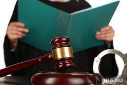 Клипарт депозитфото, молоток, правосудие, судья, суд, судебные разбирательства, мантия, наручники