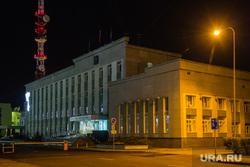 Город летом. Сургут, администрация сургутского района