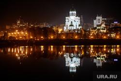 Ночной Екатеринбург, храм на крови, центральный городской пруд, ночной город, ночь, городской пейзаж, город екатеринбург