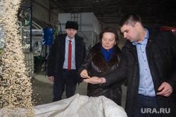 Посещение губернатором ХМАО Натальи Комаровой птицефабрики