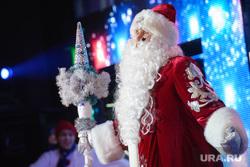 Новогодний прием Евгения Куйвашева в Театре Эстрады для представителей общественности. Екатеринбург, представление, дед мороз, новый год
