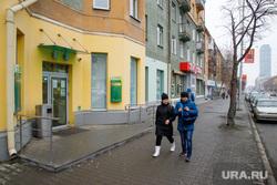 Выделеная полоса общественного транспорта на Малышева. Екатеринбург, сбербанк