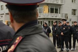 Разгон несанкционированной акции протеста сторонников Алексея Навального на Площади Труда. Екатеринбург, полиция, оцепление