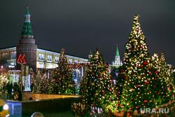 Предновогодняя Москва, елка, вечерний город, город москва, кремль, новый год, иллюминация