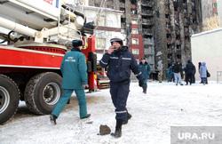 Пожар в общежитие пр.Ткацкий. Тюмень.