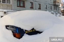 Рабочая поездка губернатора Дубровского в Ашу. Челябинск, сугробы, досааф