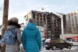 Последствия пожара в общежитие. Олимпийская, 4. Тюмень., пожар, олимпийская улица, улица олимпийская4