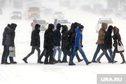 Клипарт. Декабрь (Часть 1). Магнитогорск, толпа, пешеходный переход, транспорт, холод, зима