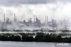 Клипарт. Ноябрь. Магнитогорск, экология, деревья, лес, природа, промышленность, смог, завод, домна, загазованность