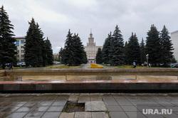 Виды Челябинска, фонтан у юургу